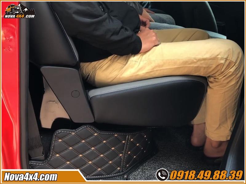 Nên độ ghế chỉnh điện cho xe bán tải  ở garage nào?