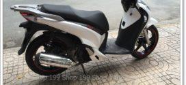 Không dùng nên bán xe SH 150i cuối 2012 trắng đậm đăng ký Bình Tân giá thanh lý