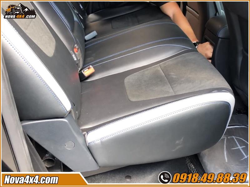 Nên độ ghế chỉnh cơ cho xe bán tải ở garage nào?