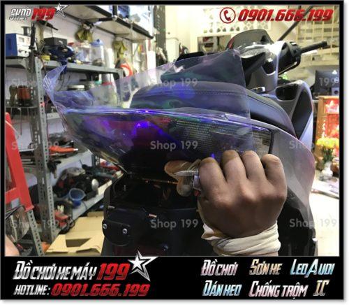 Photo xe Honda SH 150 2018 2019 2020 dán keo titan 7 màu trang trí giá rẻ ở TP Hồ Chí Minh