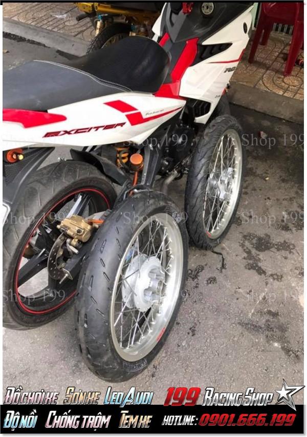 Tại thành phố Hồ Chí Minh, Cửa hàng phụ tùng xe 199 chuyên kinh doanh lốp Michelin GP cho xe máy với giá phải chăng.