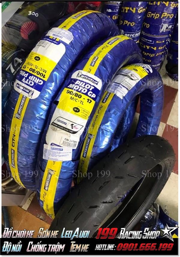 Ở Hồ Chí Minh, Cửa hàng 199 chuyên kinh doanh lốp Michelin GP cho xe không ruột với giá mềm nhất.