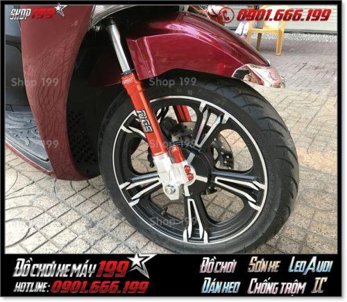 Xem ảnh bánh xe kuni Thái Lan gắn cho xe Honda SH 150i/125i 2017 độ cực đẹp giá rẻ tại shop 199