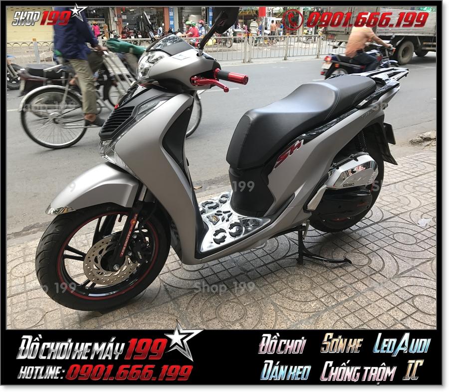 Xem ảnh xe SH 125 150 2017 2018 2019 độ nẹp hông ốp sườn kiểu SH 300i giá rẻ tại SG
