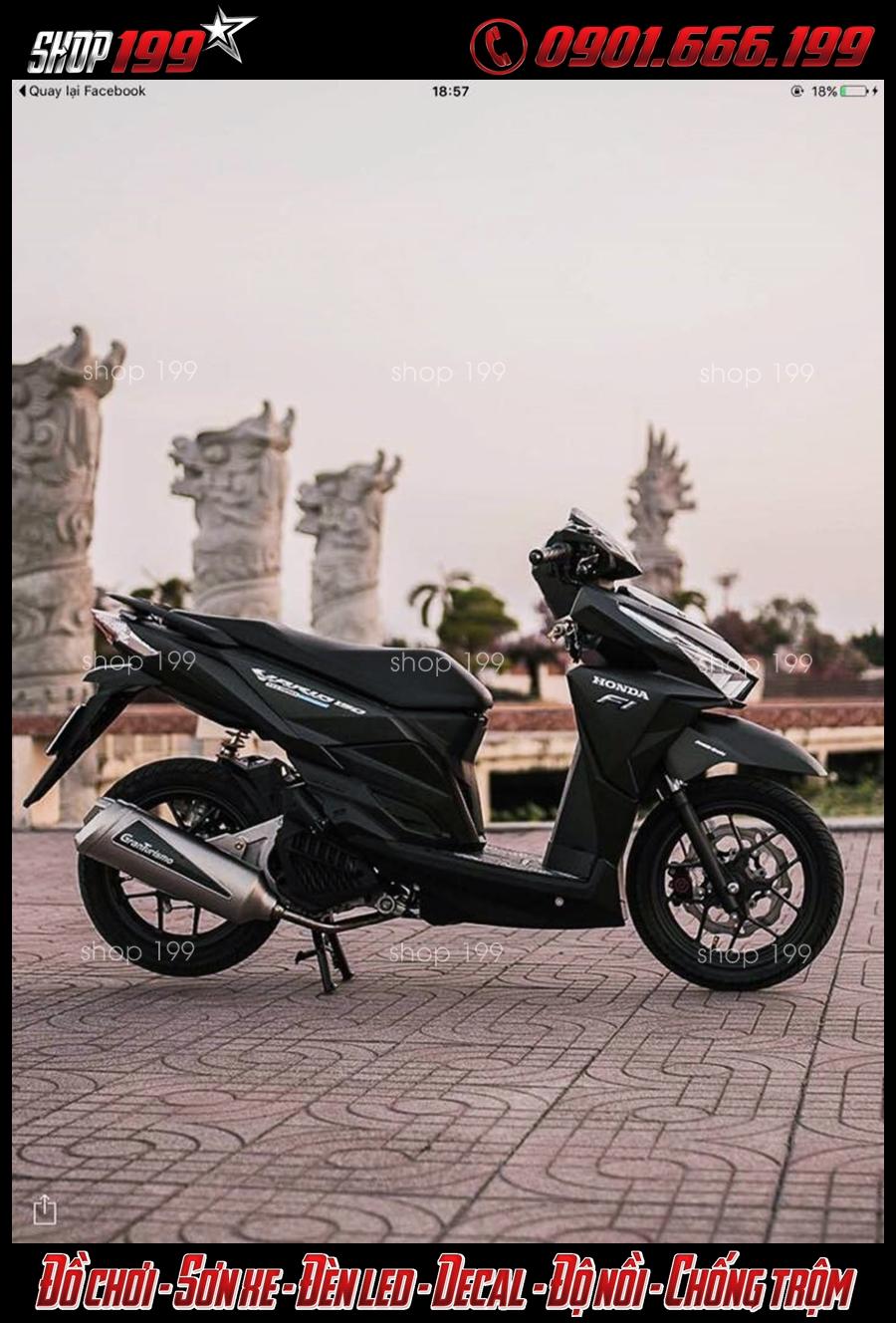 Honda Vario độ pô Granturismo cực đẳng cấp và đẹp