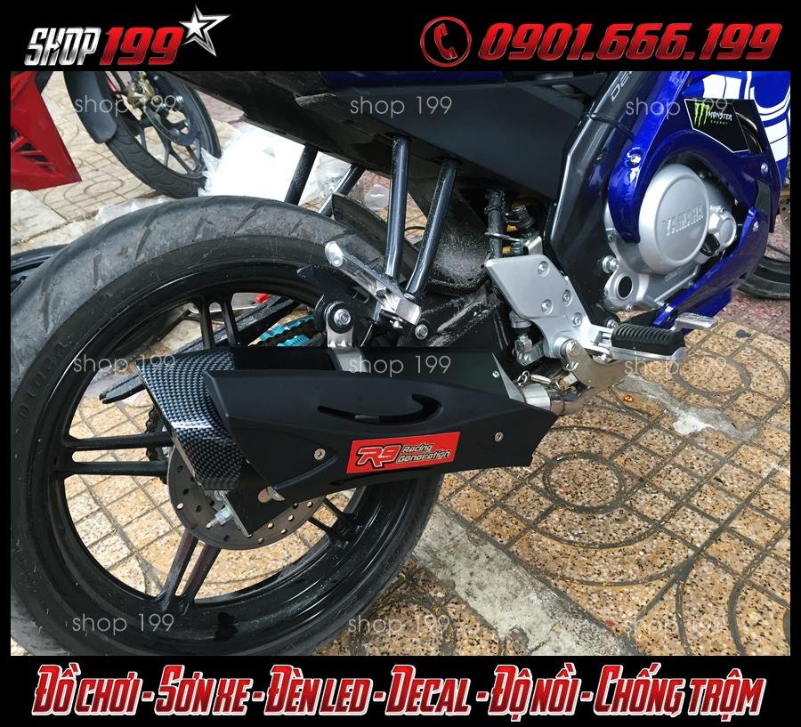Hình ảnh xe Yamaha FZ150i độ pô R9 đẳng cấp và ngầu tại HCM