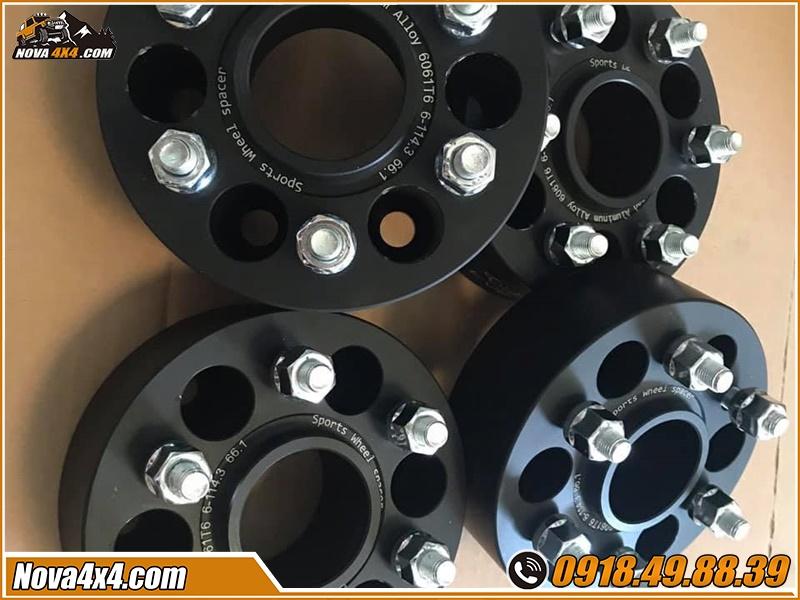 Chuyên phân phối các sản phẩm Độ Wheel Spacers Xe bán tải giá cực rẻ